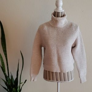 Madewell chunky cropped sweater